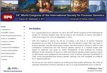 Homepage of the 24th Congress